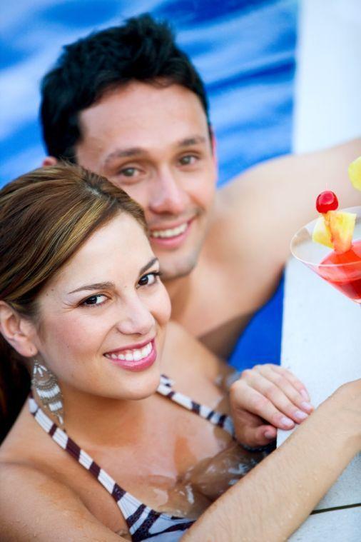 resort pool parties