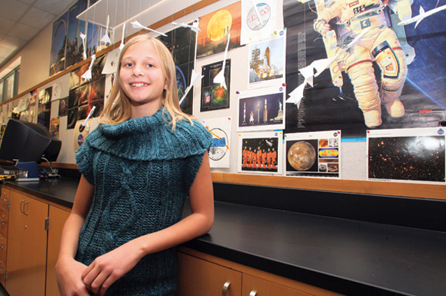 Seventh-grader or NASA scientist?