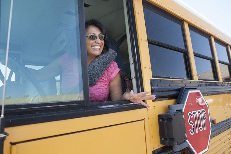 Bus Driver Yalonda Angulo