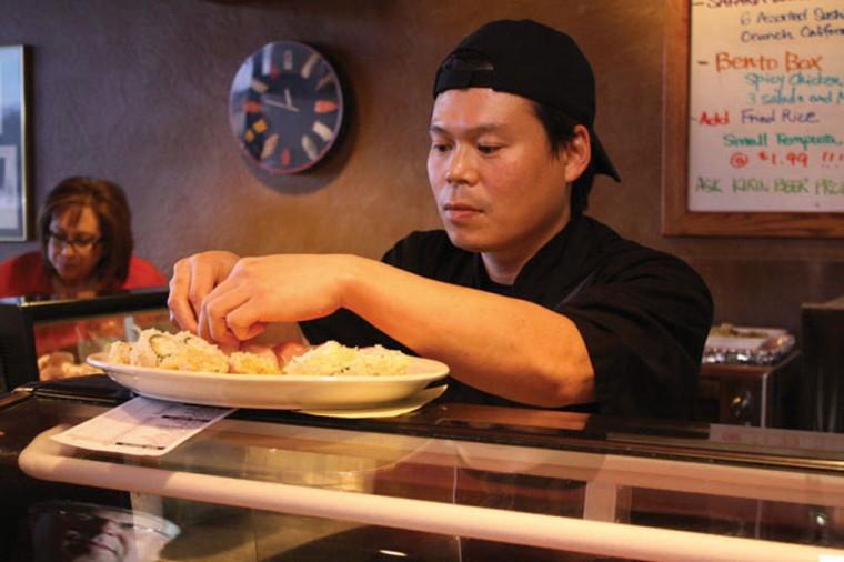 Best Asian food/sushi