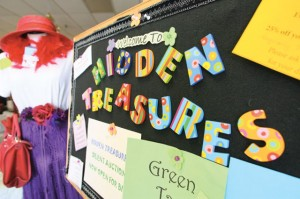 Good deeds ... in plain sight!: Local church members volunteer at Hidden Treasures