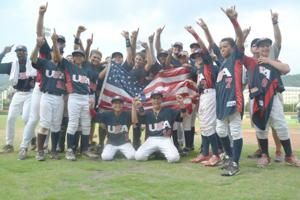 12U Team USA baseball team