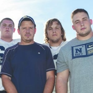 DV Football Offensive Line