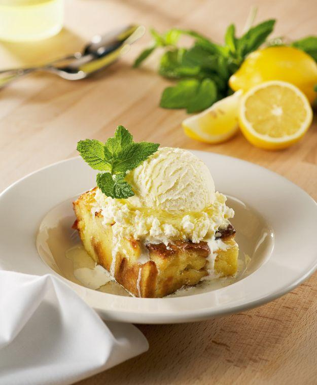Carrabba's Limoncello Bread Pudding