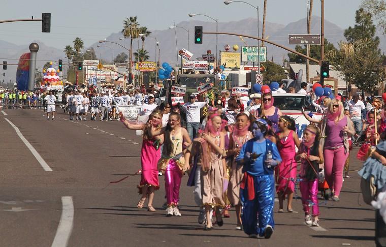 Ostrich Parade