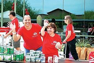 Kyrene Family Resource Center food drive