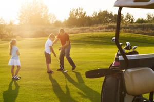 Youth golf (ages 6 to 17) grew 25 percent in the last five years.