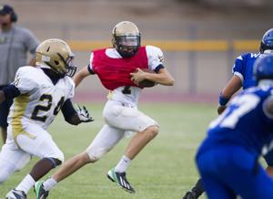 Football: DV vs Chandler scrimmage