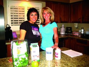 Paula Owens with Coralea Gosnell