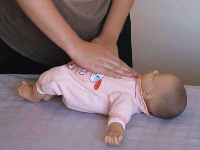 Infant massage offers benefits for both children and parents
