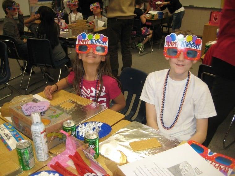 Local school children celebrate Arizona's Centennial