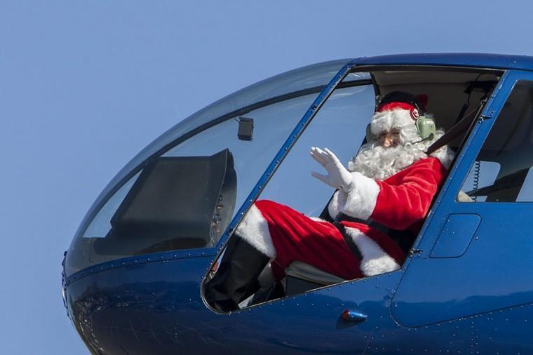 Santa's Back