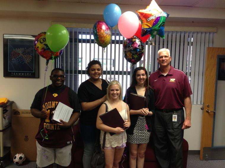 MPHS students of the month
