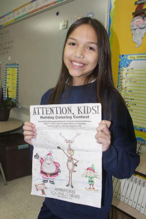 AFN Holiday Coloring Contest Winners