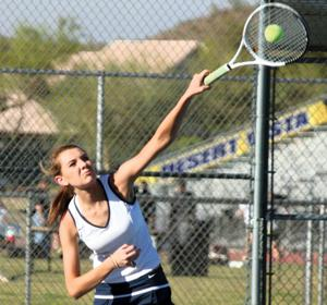 Quaggan takes one for DV girls tennis team