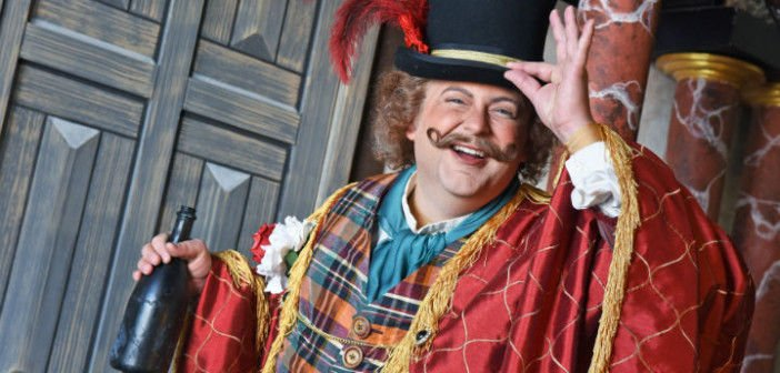 Comedic twist falstaff brings shakespearian laughs and for Farcical opera