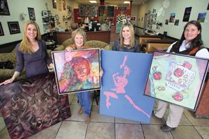 Local artists show work to benefit charity