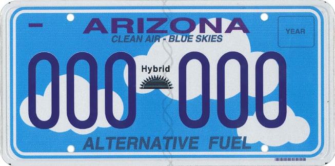Arizona hybrid plate