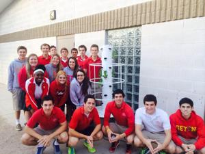 Seton's Environmental Club, class named 2014 Green Team