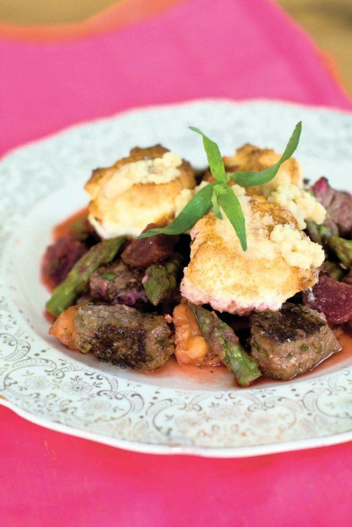 Surf and turf cobbler