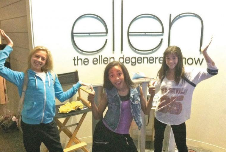Local dancers perform on Ellen Show