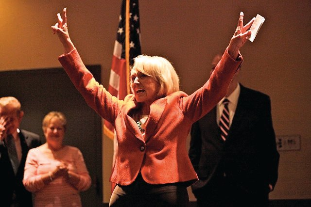 Jan Brewer at the Grace Inn