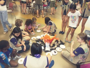 Different ways to join Girl Scouts