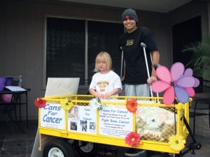 4-year-old collects cans, raises money for neighbor 
