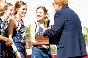Desert Vista girls cross-country