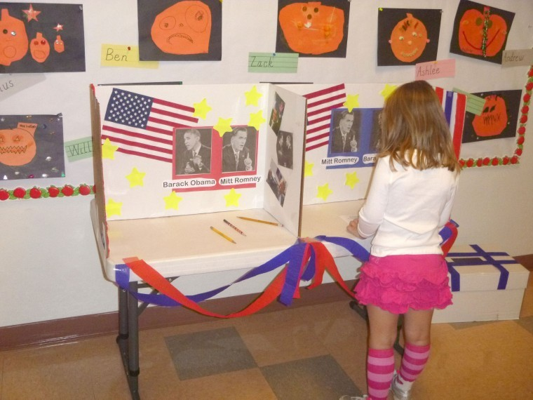 Election info from Ahwatukee Preschool