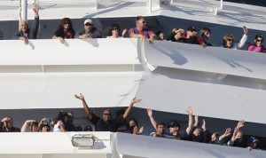 AFN publisher among stranded cruise ship passengers