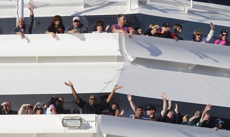 AFN publisher among stranded cruise ship passengers