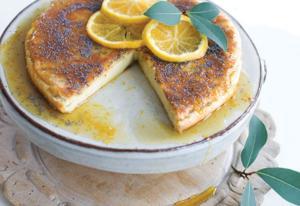 Roman cheesecake