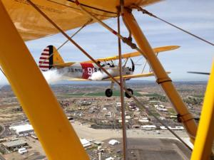 Stearman Formation Flight