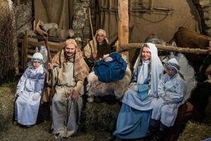 There will be a live Nativity at the celebration