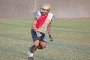 Zach Gonzalez steps up in DV Football