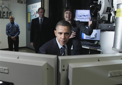Barack Obama, Barbara Miner, Paul Otellini