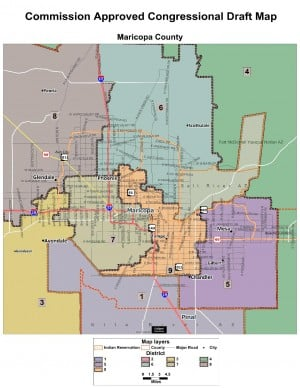 Redistricting Draft Map 2 -- Dec. 20, 2011