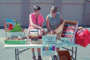 YOPAS book sale
