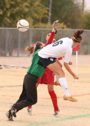 Desert Vista girls soccer