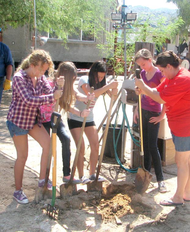 Montessori adolescents incorporate work into their studies