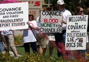 Group protests testing facility in Chandler