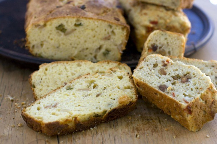 Food Quick Bread Savory
