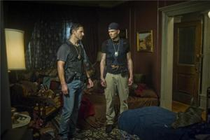 Eric Bana and Joel McHale in 'Deliver Us From Evil'