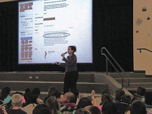 Kyrene del Milenio talks computer safety