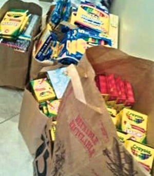 Art supplies for Joplin, Miss.