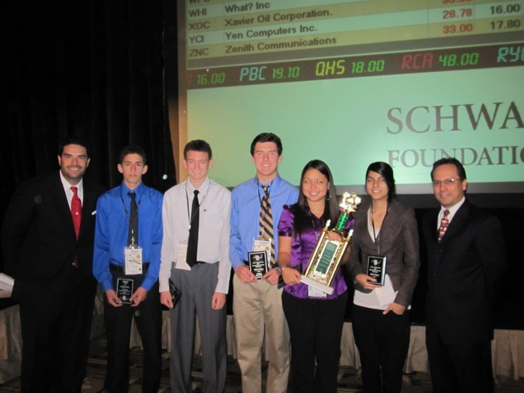 DV takes home 3rd straight stock market challenge victory