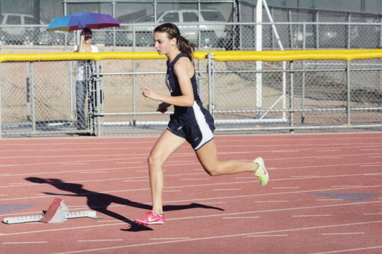 Desert Vista track