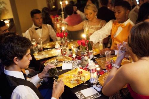 7 p.m. - The Dinner