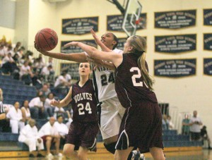 GIRLS BASKETBALL -- Commitment to excellence brings DV's Harris to West Point